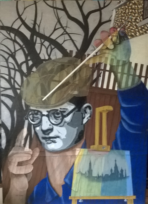 Self portrait in 5 parts - part 4, Shostakovitching